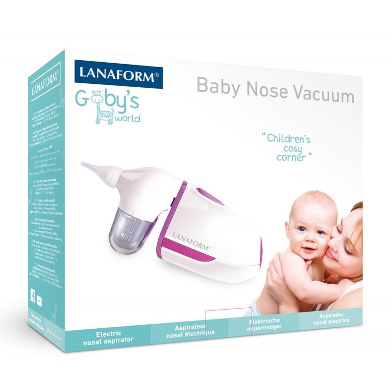 Elektroniczny aspirator do nosa Lanaform Baby Nose Vacuum