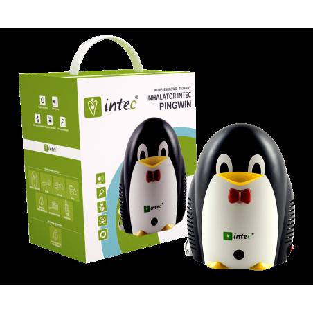 Inhalator dla dzieci Tłokowy Intec Pingwin (CN-02WF2)