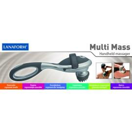 Masażer ręczny Lanaform Multi Mass