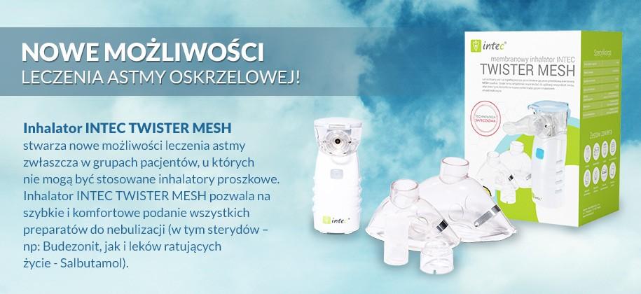 Inhalator Intec TWISTER MESH
